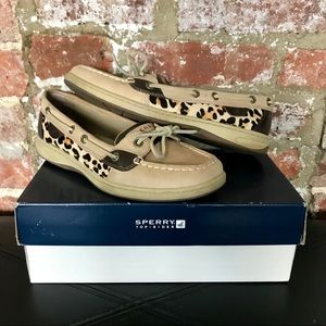 Sperry Top-Sider Angelfish Leopard Boat Shoes